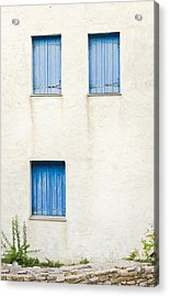 Greek House Acrylic Print
