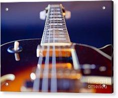 Guitar Acrylic Print by Stelios Kleanthous