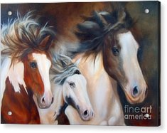Gypsy Run Acrylic Print