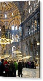 Hagia Sophia Scene Four Acrylic Print