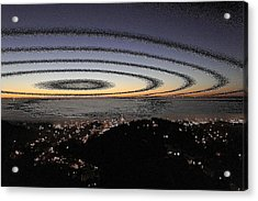 Acrylic Print featuring the photograph Halo by Nick David