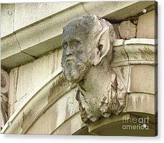 Hampton Court Palace Gargoyle Acrylic Print