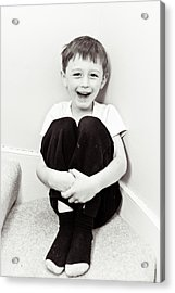 Happy Child Acrylic Print by Tom Gowanlock