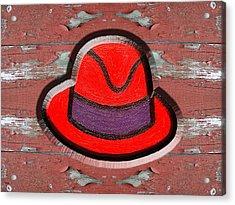 Big Red Hat Acrylic Print