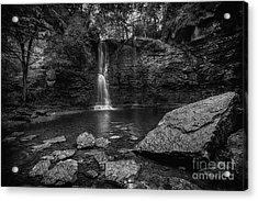 Hayden Falls Acrylic Print by James Dean