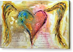 Heart Of A Lover Acrylic Print by Ivan Guaderrama