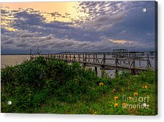 Acrylic Print featuring the photograph Henderson Point by Maddalena McDonald