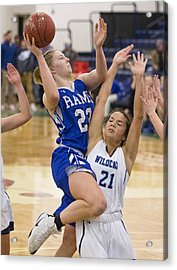 High School Basketball Acrylic Print by Portland Press Herald