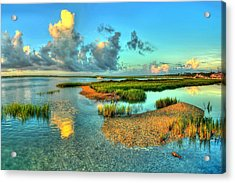 High Tide Acrylic Print by Ed Roberts
