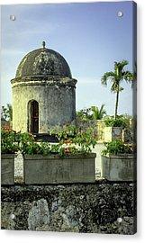 Historic Spanish Colonial Walls Acrylic Print