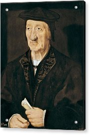 Holbein, Hans, The Younger 1497-1547 Acrylic Print by Everett