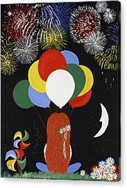 Holiday Magic Acrylic Print by Nathalie Sorensson