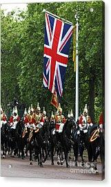 Household Cavalry Life Guards Acrylic Print