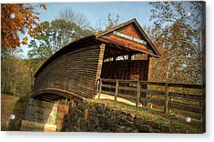 Humpback Covered Bridge Acrylic Print