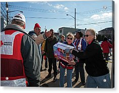 Hurricane Sandy Disaster Relief Acrylic Print by Jim West