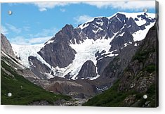 Ice And Snow Acrylic Print by Aimee L Maher Photography and Art Visit ALMGallerydotcom