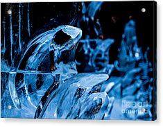 Icicles Acrylic Print