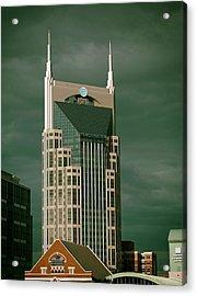 Icons Of Nashville Acrylic Print