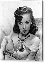 Ida Lupino, Warner Bros. Portrait Acrylic Print by Everett