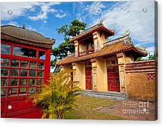 Imperial City Of Hue Vietnam Acrylic Print by Fototrav Print