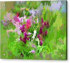 Impressions Of Spring Acrylic Print by Jessica Jenney