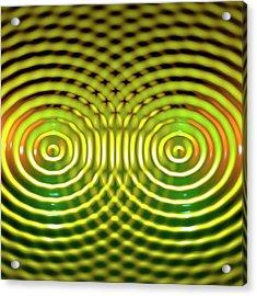 Interference Patterns Acrylic Print