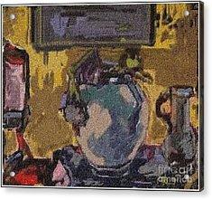 Interior Acrylic Print by Pemaro