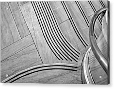 Intersection Of Lines And Curves Acrylic Print by Gary Slawsky