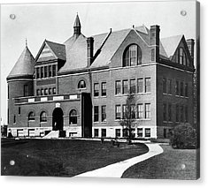 Acrylic Print featuring the photograph Iowa State University, C1900 by Granger