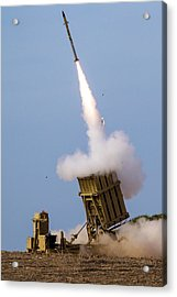 Iron Dome Acrylic Print by Photostock-israel