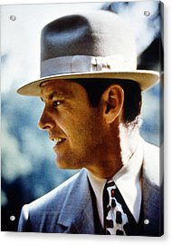 Jack Nicholson In Chinatown  Acrylic Print by Silver Screen