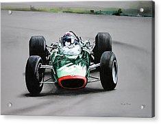 Jackie Stewart  Brm Acrylic Print