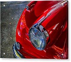 Jaguar Xk 140 Acrylic Print by SM Shahrokni
