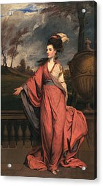 Jane Fleming, Later Countess Acrylic Print by Sir Joshua Reynolds