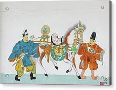 Japan, Nara Prefecture, Heguri-cho Acrylic Print