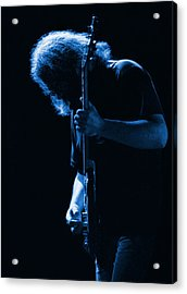 Jerry Blue Sillow Acrylic Print