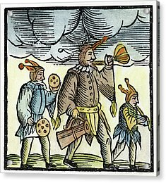 Jewish Holiday, 1663 Acrylic Print by Granger