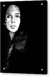 Joan Acrylic Print