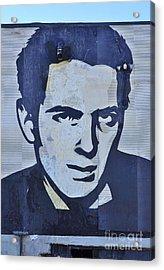 Joe Strummer Acrylic Print by Allen Beatty
