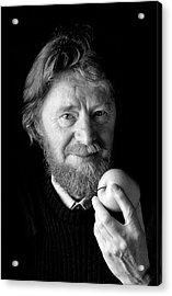 John Stewart Bell Acrylic Print by Peter Menzel
