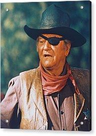 John Wayne In True Grit  Acrylic Print by Silver Screen