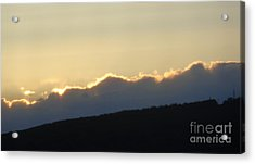 Acrylic Print featuring the photograph 2 - June Sunset 2 by Christina Verdgeline