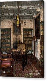 Junipero Serra Library In Carmel Mission Acrylic Print