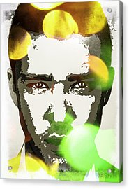 Acrylic Print featuring the digital art Justin Timberlake by Svelby Art