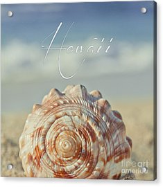 Kapukaulua Aia I Laila Ke Aloha Island Dreams Acrylic Print by Sharon Mau