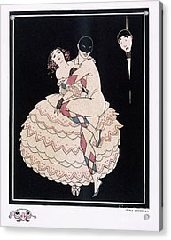 Karsavina Acrylic Print by Georges Barbier