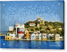 Kastellorizo Island Acrylic Print