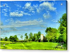 Kentucky Countryside Acrylic Print by Darren Fisher