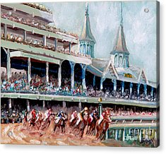 Kentucky Derby Acrylic Print by Todd Bandy