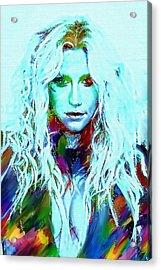 Kesha Acrylic Print
